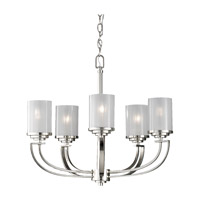 Feiss Finley 5 Light Chandelier in Polished Nickel F2632/5PN photo thumbnail
