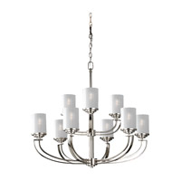 Feiss Finley 9 Light Chandelier in Polished Nickel F2633/6+3PN photo thumbnail