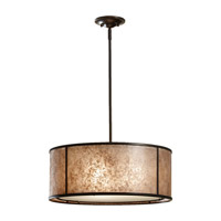 Feiss F2639/3LAB Taylor 3 Light 20 inch Light Antique Bronze Chandelier Ceiling Light in Standard photo thumbnail