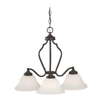 Feiss Beckett 3 Light Chandelier in Oil Rubbed Bronze F2647/3ORB