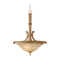 Feiss Blaire 3 Light Pendant in Medium Aged Wood F2683/3MAW