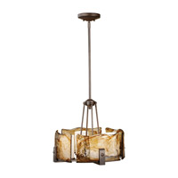 Aris 4 Light 20 inch Roman Bronze Chandelier Ceiling Light