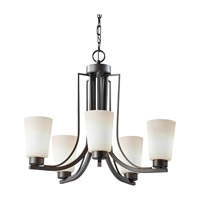 Feiss Weston 5 Light Chandelier in Colonial Iron F2761/5CI-F