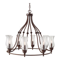 Pickering Lane 8 Light 32 inch Heritage Bronze Chandelier Ceiling Light