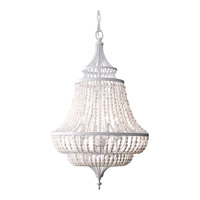Maarid 4 Light 18 inch White Semi Gloss Chandelier Ceiling Light