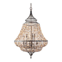 Maarid 9 Light 30 inch Rustic Iron Chandelier Ceiling Light