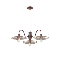 Urban Renewal 4 Light 32 inch Astral Bronze Chandelier Ceiling Light