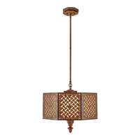 Feiss Kandira 3 Light Pendant in Moroccan Bronze F2905/3MOB