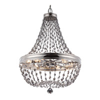 Feiss F2914/12PN Malia 12 Light 36 inch Polished Nickel Chandelier Ceiling Light