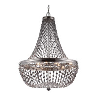 Malia 9 Light 25 inch Polished Nickel Chandelier Ceiling Light