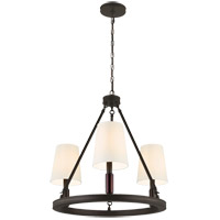 Feiss Lismore 3 Light Chandelier in Oil Rubbed Bronze F2921/3ORB
