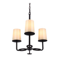 Huntley 3 Light 20 inch Oil Rubbed Bronze Chandelier Ceiling Light in Standard