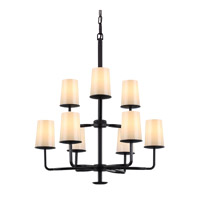 Feiss Huntley 9 Light Chandelier in Oil Rubbed Bronze F2925/3+6ORB-F