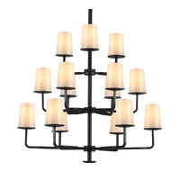 Huntley 15 Light 38 inch Oil Rubbed Bronze Chandelier Ceiling Light
