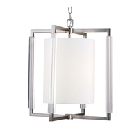 Fording 3 Light 21 inch Brushed Steel Chandelier Ceiling Light in Standard