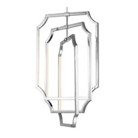 Feiss F2955/6PN Audrie LED 17 inch Polished Nickel Pendant Chandelier Ceiling Light