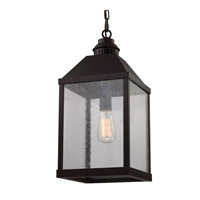 Feiss F2959/1ORB Lumiere 1 Light 10 inch Oil Rubbed Bronze Chandelier Ceiling Light