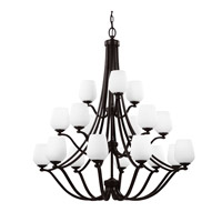 Vintner 18 Light 43 inch Heritage Bronze Chandelier Ceiling Light in Standard