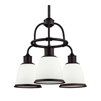 Feiss Hobson 3 Light Chandelier in Oil Rubbed Bronze F3018/3ORB-F