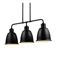 Feiss Hobson 3 Light Island Chandelier in Oil Rubbed Bronze F3021/3ORB-F