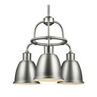 Hobson LED 22 inch Satin Nickel Chandelier Ceiling Light in Screw-in LED