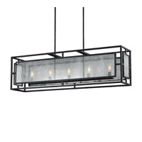 Feiss Prairielands 5 Light Chandelier in Dark Weathered Zinc F3037/5DWZ