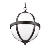 Amato 3 Light 16 inch Oil Rubbed Bronze Pendant Ceiling Light in Standard
