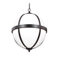 Feiss F3055/4ORB Amato 4 Light 22 inch Oil Rubbed Bronze Pendant Ceiling Light in Standard