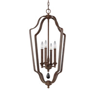 DeWitt 4 Light 17 inch Weathered Iron Chandelier Ceiling Light