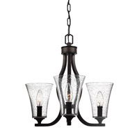Feiss F3111/3ORB Marteau 3 Light 18 inch Oil Rubbed Bronze Chandelier Ceiling Light