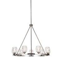 Feiss F3128/9PN Rubin 9 Light 34 inch Polished Nickel Chandelier Ceiling Light