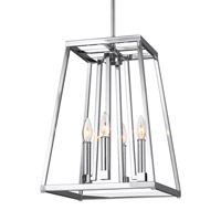 Conant 4 Light 13 inch Chrome Pendant Ceiling Light