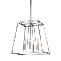 Conant 4 Light 18 inch Chrome Pendant Ceiling Light