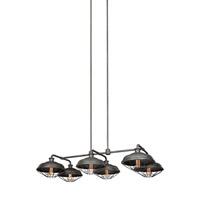 Feiss F3159/6SGM Lennex 6 Light 27 inch Slated Grey Metal Chandelier Ceiling Light