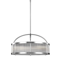 Paulson 3 Light 21 inch Chrome Chandelier Ceiling Light