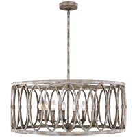 Patrice 8 Light 32 inch Deep Abyss Chandelier Ceiling Light