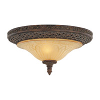 Feiss Casbah 2 Light Flush Mount in Palladio FM169PAL photo thumbnail