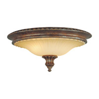 Stirling Castle 2 Light 18 inch British Bronze Flush Mount Ceiling Light in Standard