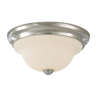 Feiss Claridge 1 Light Flush Mount in Chrome FM250CH
