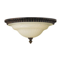 Feiss Drawing Room 2 Light Flush Mount in Walnut FM270WAL photo thumbnail