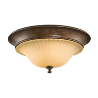 Feiss Somerset 3 Light Flush Mount in British Bronze FM278BRB photo thumbnail