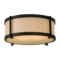 Feiss FM335ORB Stelle 2 Light 14 inch Oil Rubbed Bronze Flush Mount Ceiling Light