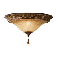 Feiss FM341FSV Celine 2 Light 13 inch Firenze Silver Flush Mount Ceiling Light in Standard photo thumbnail