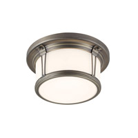 Feiss Woodward LED Flush Mount in Satin Bronze FM387SBZ-LA