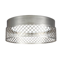 Feiss Amani Flush Mount in Polished Nickel FM451PN