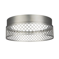 Feiss Amani Flush Mount in Satin Nickel FM451SN