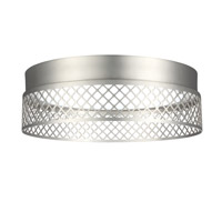 Feiss Amani Flush Mount in Satin Nickel FM452SN