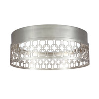 Feiss Amani Flush Mount in Polished Nickel FM454PN