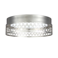 Feiss Amani Flush Mount in Polished Nickel FM455PN
