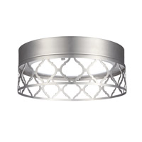 Feiss Amani Flush Mount in Satin Nickel FM457SN